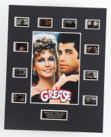 """""""Grease"""" LE 8x10 Custom Matted Original Film / Movie Cell Display at PristineAuction.com"""