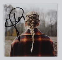 """Taylor Swift Signed """"Evermore"""" CD Album Booklet (Beckett LOA) (See Description) at PristineAuction.com"""