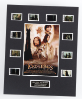 """""""Lord of the Rings: The Two Towers"""" LE 8x10 Custom Matted Original Film / Movie Cell Display at PristineAuction.com"""