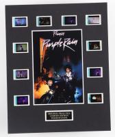 """Purple Rain"" LE 8x10 Custom Matted Original Film / Movie Cell Display at PristineAuction.com"