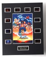 """Aladdin"" LE 8x10 Custom Matted Original Film / Movie Cell Display at PristineAuction.com"