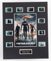 """""""Captain America: The Winter Soldier"""" LE 8x10 Custom Matted Original Film / Movie Cell Display at PristineAuction.com"""
