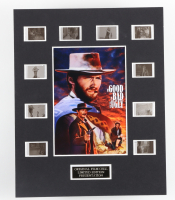 """""""The Good, The Bad, and The Ugly"""" LE 8x10 Custom Matted Original Film / Movie Cell Display at PristineAuction.com"""