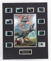 """Jurassic World: Fallen Kingdom"" LE 8x10 Custom Matted Original Film / Movie Cell Display at PristineAuction.com"