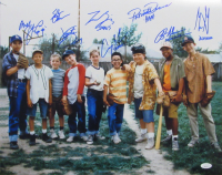 """""""The Sandlot"""" 16x20 Photo Cast-Signed by (8) with Tom Guiry, Patrick Renna, Chauncey Leopardi, Marty York with Character Name Inscriptions (JSA COA) at PristineAuction.com"""