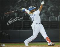 Vladimir Guerrero Jr. Signed Blue Jays 16x20 Photo (Beckett Hologram) at PristineAuction.com