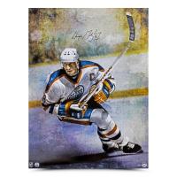 Wayne Gretzky Signed Oilers 30x40 Print (UDA Hologram) at PristineAuction.com