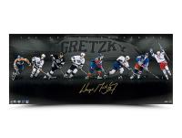 Wayne Gretzky Signed 18x42 Photo (UDA Hologram) at PristineAuction.com