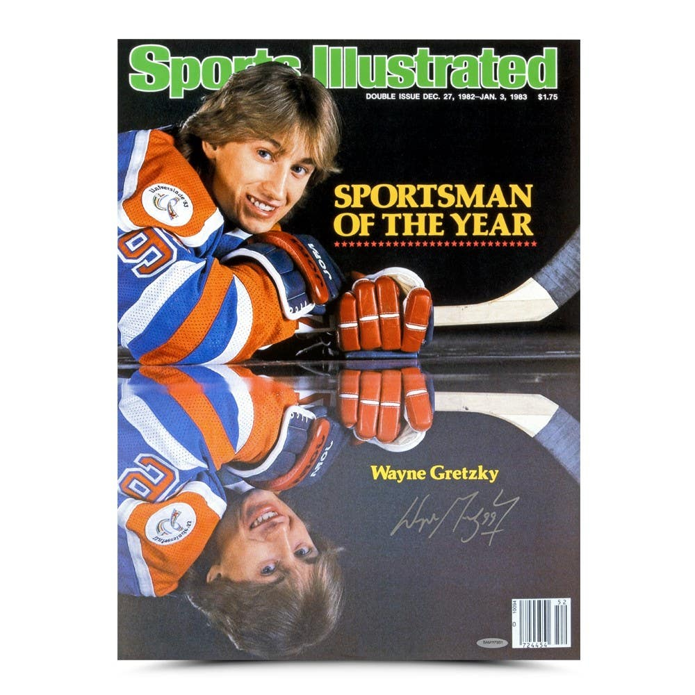 Wayne Gretzky Signed Oilers 15x20 Cover Print (UDA Hologram) at PristineAuction.com