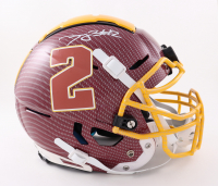 Dyami Brown Signed Full-Size Authentic On-Field Hydro Dipped F7 Helmet (Beckett Hologram) at PristineAuction.com