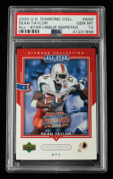 Sean Taylor 2004 UD Diamond All-Star Promo #AS9 RC (PSA 10) at PristineAuction.com