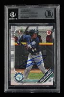 Julio Rodriguez Signed 2019 Bowman Prospects #BP33 (BGS Encapsulated) at PristineAuction.com