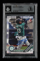 Julio Rodriguez Signed 2019 Bowman Draft #BD60 (BGS Encapsulated) at PristineAuction.com
