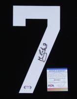 "Mathieu Joseph Signed Jersey Number ""7"" Patch (PSA COA) at PristineAuction.com"
