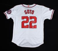 Juan Soto Signed Washington Nationals Jersey (JSA COA) at PristineAuction.com