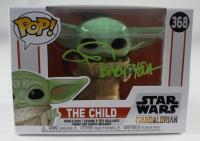 "John Rosengrant Signed ""Star Wars: The Mandalorian"" #368 The Child Funko Pop! Vinyl Figure Inscribed ""Baby Yoda"" (JSA COA) at PristineAuction.com"