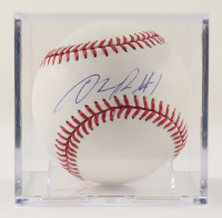 D'Angelo Russell Signed OML Baseball with Display Case (PSA COA & JSA COA) at PristineAuction.com