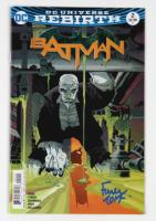 "David Finch Signed 2016 ""Batman: Rebirth"" #2 D.C. Comic Book (JSA Hologram) at PristineAuction.com"
