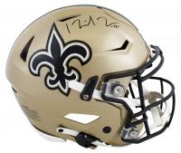 Michael Thomas Signed Saints Full-Size Authentic On-Field SpeedFlex Helmet (Beckett Hologram) at PristineAuction.com