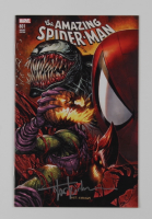 """Tyler Kirkman Signed 2018 """"The Amazing Spider-Man"""" Vol. 5 Issue #801 Connecting Variant Marvel Comic Book (Unknown Comics COA) at PristineAuction.com"""
