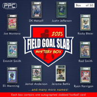 Press Pass Collectibles 2021 Field Goal Football Slab Mystery Box – Series 1 (Limited to 50) at PristineAuction.com