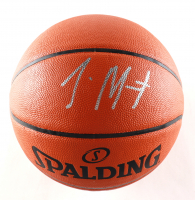 Ja Morant Signed Official NBA Silver Series Basketball (Beckett COA) at PristineAuction.com