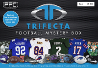 Press Pass Collectibles 2021 Football Trifecta Mystery Box – Series 4 (Limited to 50) at PristineAuction.com