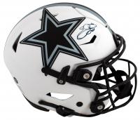 Emmitt Smith Signed Cowboys Full-Size Authentic On-Field Lunar Eclipse Alternate Speed-Flex Helmet (Beckett Hologram) at PristineAuction.com