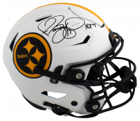 """Jerome Bettis Signed Steelers Full-Size Authentic On-Field Lunar Eclipse Alternate Speed-Flex Helmet Inscribed """"HOF 15"""" (Beckett Hologram) at PristineAuction.com"""