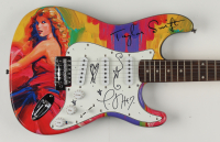 Taylor Swift Signed Custom Electric Guitar with Hand-Drawn Stars & Hearts (Beckett Hologram) at PristineAuction.com