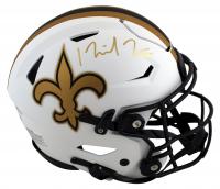 Michael Thomas Signed Saints Full-Size Authentic On-Field Lunar Eclipse Alternate SpeedFlex Helmet (Beckett Hologram) at PristineAuction.com