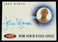 John Wyman 2004 Quotable James Bond Autographs #A39 (JSA COA) at PristineAuction.com