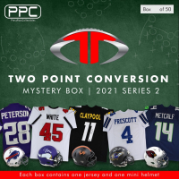 Press Pass Collectibles 2021 Football Two Point Conversion Mystery Box – Series 2 (Limited to 50) at PristineAuction.com