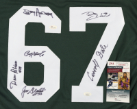 Jersey Team-Signed by (6) with Paul Hornung, Dave Robinson, Jim Grabowski, Donny Anderson (JSA COA & Hologram) at PristineAuction.com