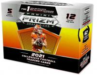 2021 Panini Prizm Draft Football Mega Box with (12) Packs at PristineAuction.com
