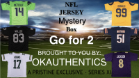 OKAUTHENTICS NFL Go for 2 Jersey Mystery Box - Series XI at PristineAuction.com