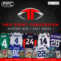 Press Pass Collectibles 2021 Football Two Point Conversion Mystery Box – Series 1 (Limited to 50) at PristineAuction.com