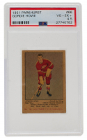 Gordie Howe 1951-52 Parkhurst #66 RC (PSA 4.5) at PristineAuction.com