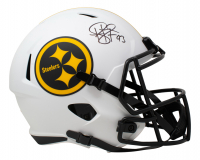 Troy Polamalu Signed Steelers Full-Size Lunar Eclipse Alternate Speed Helmet (JSA COA) at PristineAuction.com