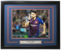 Luis Suarez Signed Barcelona 16x20 Custom Framed Photo Display (Beckett COA) at PristineAuction.com
