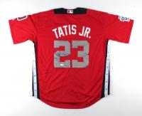 Fernando Tatis Jr. Signed 2018 All-Star Futures Game World Jersey (JSA COA) at PristineAuction.com