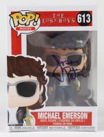 "Jason Patric Signed ""The Lost Boys"" #613 Michael Emerson Funko Pop! Vinyl Figure (JSA COA) at PristineAuction.com"