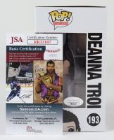 "Marina Sirtis Signed ""Star Trek: The Next Generation"" #613 Deanna Troi Funko Pop! Vinyl Figure (JSA COA) at PristineAuction.com"