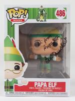 """Bob Newhart Signed """"Elf"""" #486 Papa Elf Funko Pop! Vinyl Figure Inscribed """"Hi From Papa Elf"""" (JSA COA) (See Description) at PristineAuction.com"""