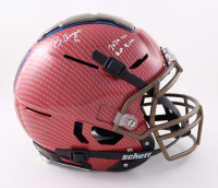 """Brandon Aiyuk Signed Full-Size Authentic On-Field Hydro-Dipped F7 Helmet Inscribed """"2020 1st RD Pick"""" & """"Yards After King"""" (Beckett COA) (See Description) at PristineAuction.com"""