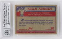 Hulk Hogan Signed 1985 Topps WWF #1 (BGS Encapsulated) at PristineAuction.com