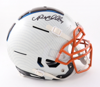 Nick Chubb Signed Full-Size Youth Authentic On-Field Hydro-Dipped F7 Helmet (Beckett COA) at PristineAuction.com