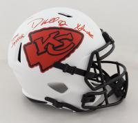 "Dante Hall Signed Chiefs Full-Size Lunar Eclipse Alternate Speed Helmet Inscribed ""Human Joystick"" & ""X Factor"" (PSA COA) at PristineAuction.com"