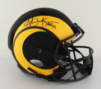 """Eric Dickerson Signed Rams Full-Size Eclipse Alternate Speed Helmet Inscribed """"HOF 99"""" (Beckett Hologram) at PristineAuction.com"""