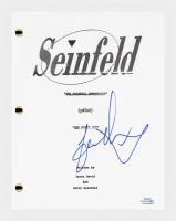 "Jason Alexander Signed ""Seinfeld"" Pilot Episode Script (AutographCOA COA) at PristineAuction.com"